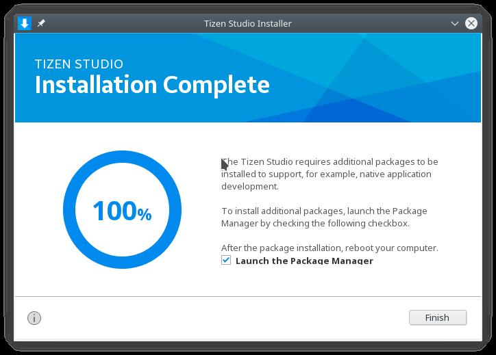 Tizen Studio on Other Than Ubuntu – Heliosky